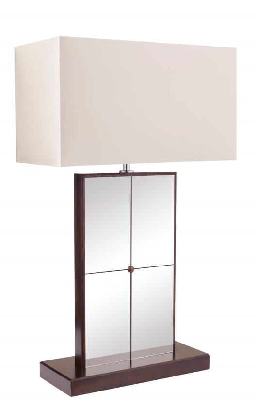 Lamp-Bronzed Clear Glass-3 quarter angle-V1 (RT)